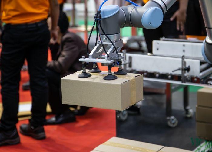 proceso de robotización industrial