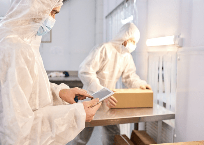 Automatización de la industria farmacéutica